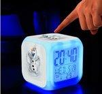 Frozen led kinderwekker
