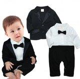 Babykostuums bodysuit met blazer 2 kleuren