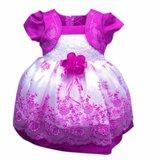 Prinses babyjurk/feestjurk paars mt. 1