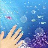Nepnagels voor kinderen 'oceaan'
