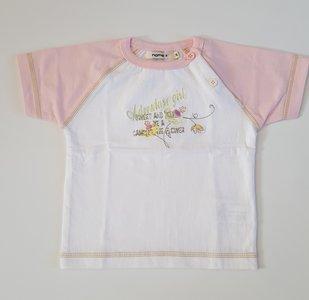 Name It babyshirt roze mt. 74/80