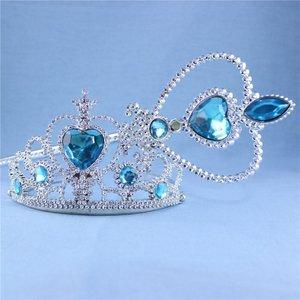 Prinses speelset kroon en toverstaf